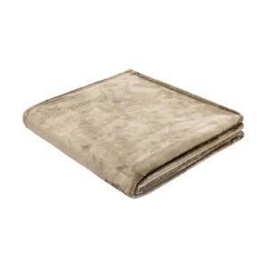Cuvertură Biederlack Uni Sand, 200 x 150 cm