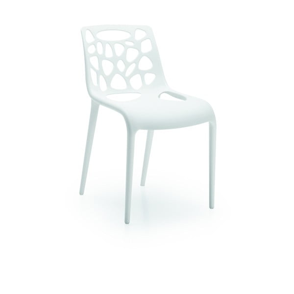 Židle Guna, bílá