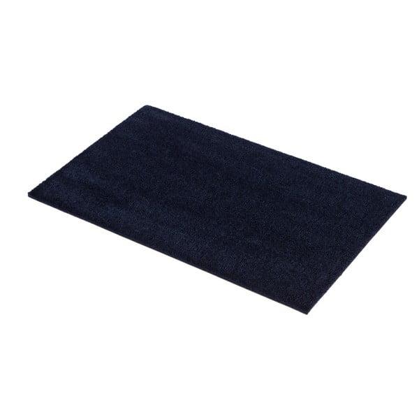 Tmavě modrá rohožka Tica Copenhagen Unicolor, 40x60cm