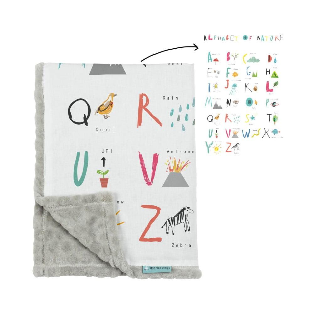 d tsk deka little nice things alphabet 170 x 130 cm bonami. Black Bedroom Furniture Sets. Home Design Ideas