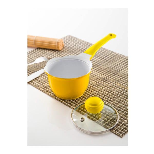 Rendlík s poklicí, 12 cm, žlutý