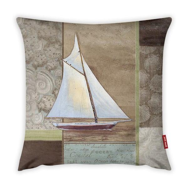 Față de pernă Vitaus Boat, 43 x 43 cm