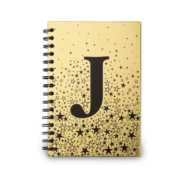 Zápisník Tri-Coastal Design Spiral J, 120 stran