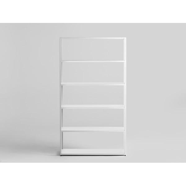 Bibliotecă din metal Custom Form Hyșșer, alb