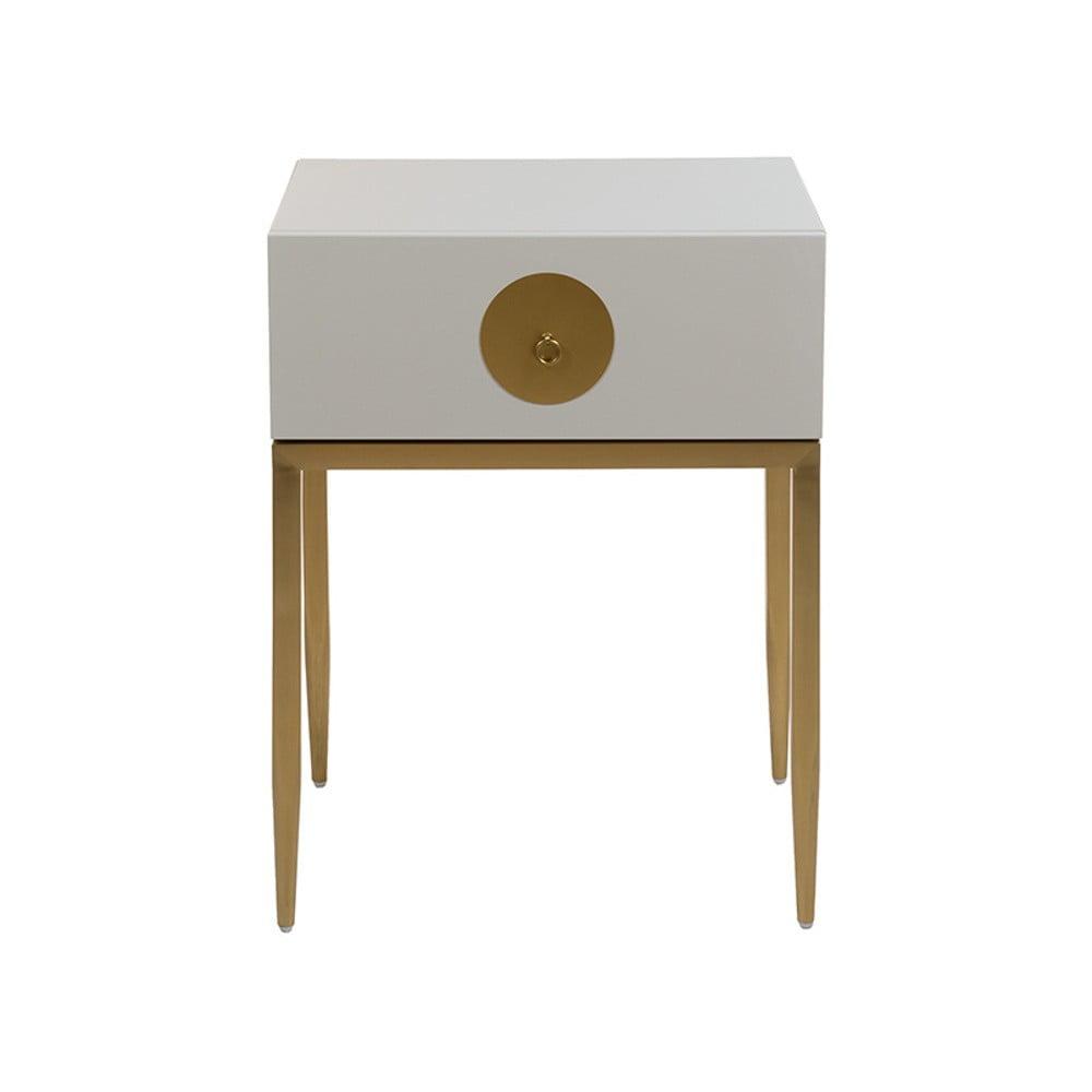 Šedý noční stolek Santiago Pons Classy