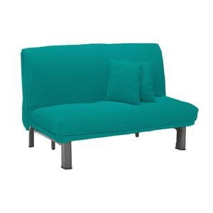 Canapea extensibilă cu 2 locuri 13Casa Furios, turcoaz