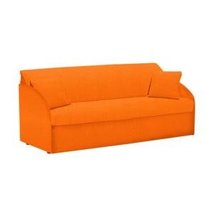 Canapea extensibilă cu 3 locuri 13Casa Amigos, portocaliu