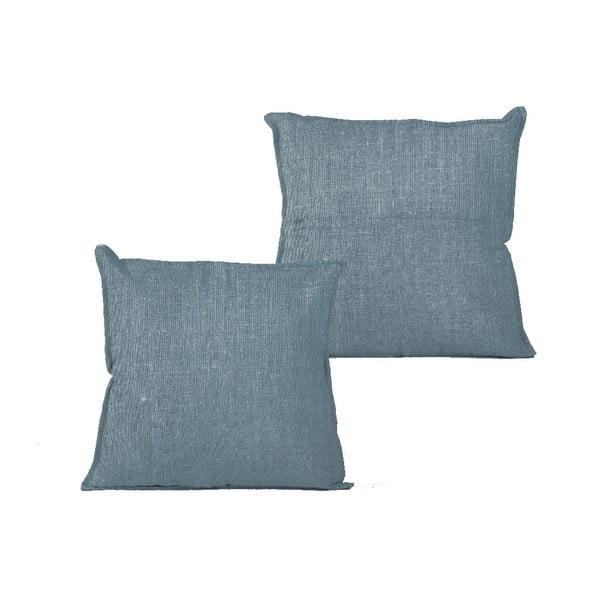 Obliečka na vankúš Linen Couture Blue, 45×45 cm