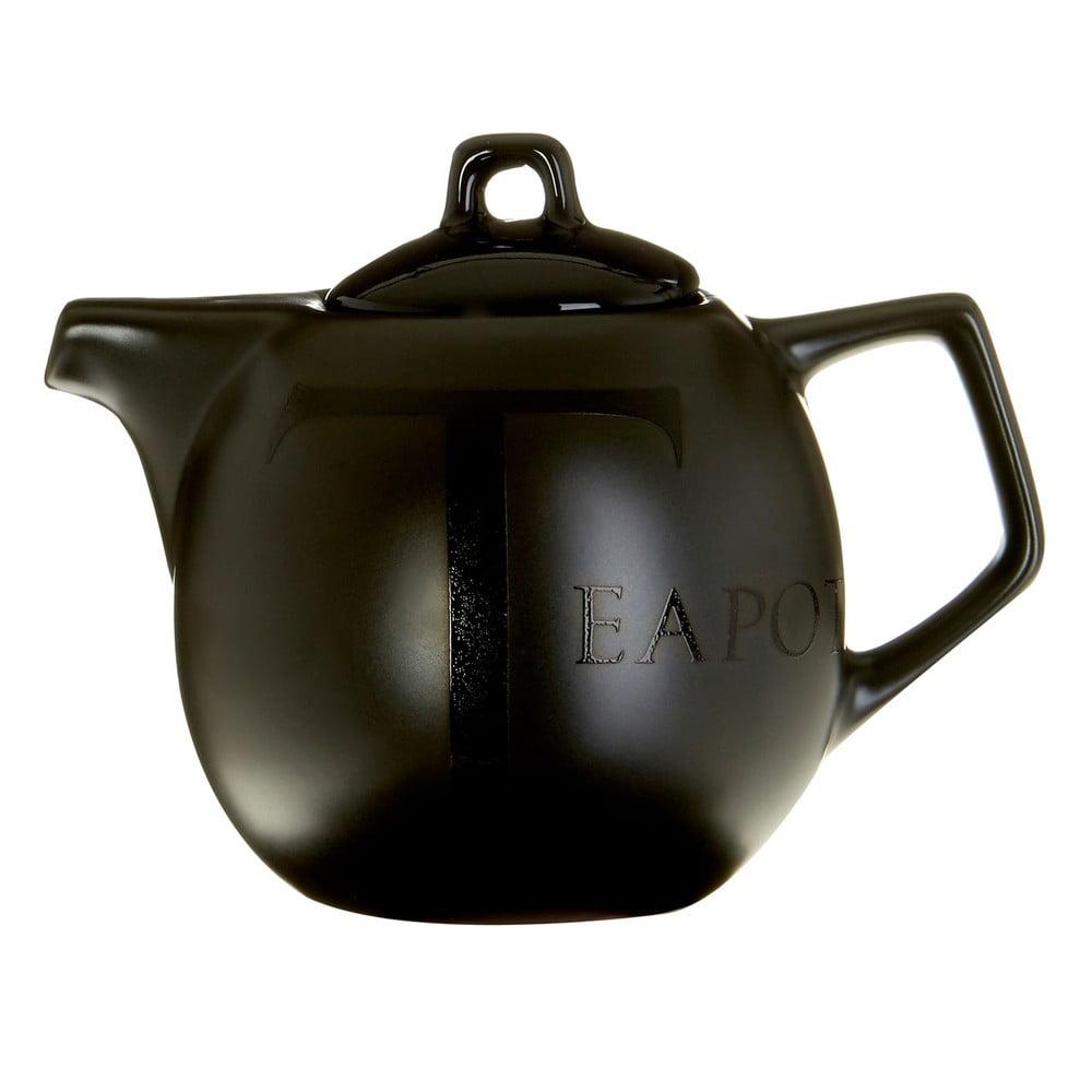 Černá keramická čajová konvice Premier Housewares, 500 ml
