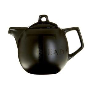 Černá keramická čajová konvice Premier Housewares, 500ml