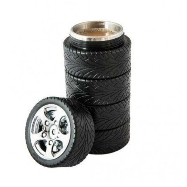 Kubek termiczny ze stali nierdzewnej dla kierowców Gift Republic
