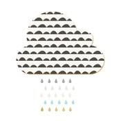 Dekorativní samolepící nástěnka Dekornik White Cloud With Pastel Drops, 57x40cm