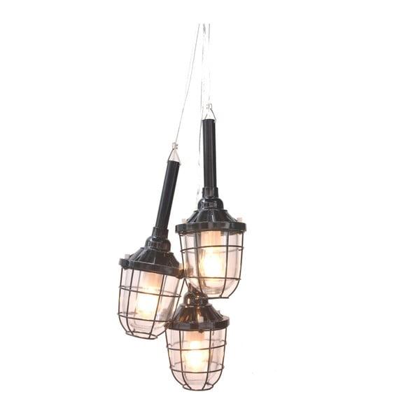 Závěsná lampa Faro, černá