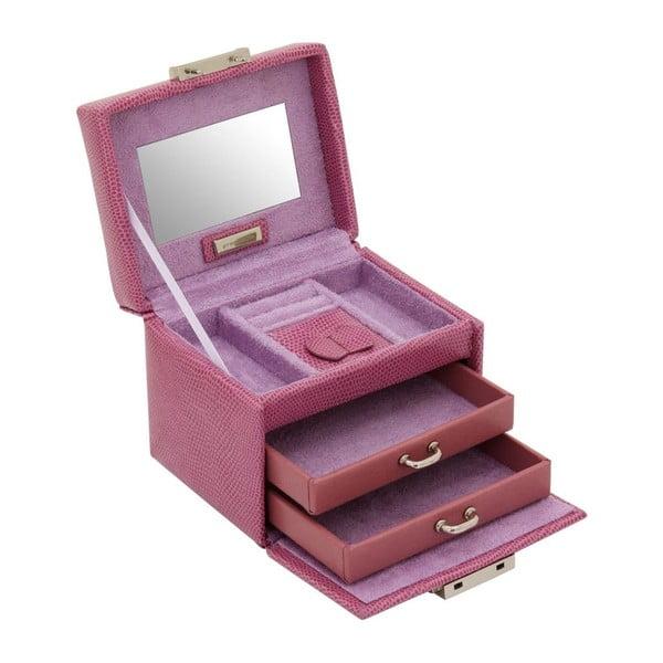 Šperkovnice Candy Light Purple, 12x9,5x9 cm