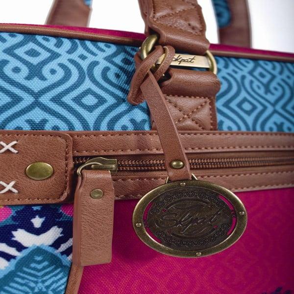 Pestrobarevná kabelka SKPA-T, 38 x 29 cm