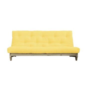 Canapea extensibilă Karup Design Fresh Natural/Yellow de la Karup Design