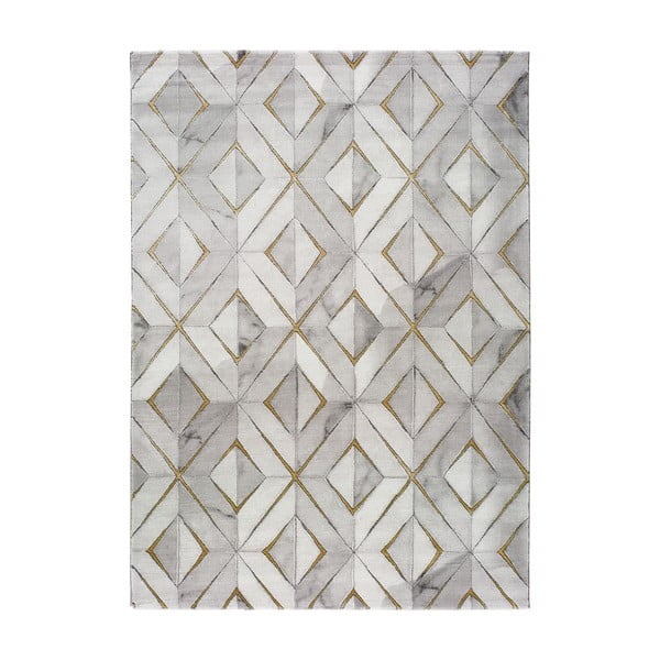 Šedý koberec Universal Norah Dice, 200 x 290 cm