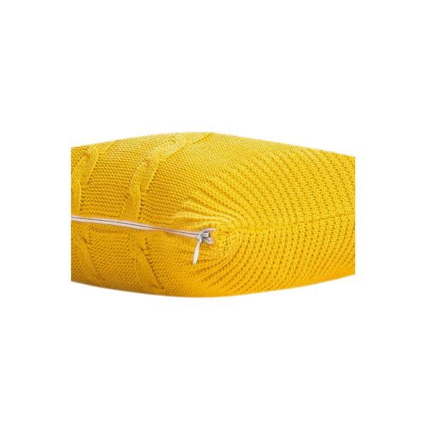 Polštář s výplní Fancy Yellow, 43x43 cm