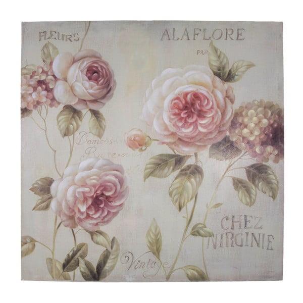 Obraz na plátně Antic Line Alaflore, 80x80cm