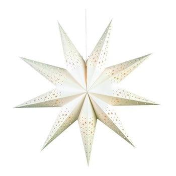 Decorațiune luminoasă suspendată Markslöjd Solvalla, ø 75 cm, alb imagine