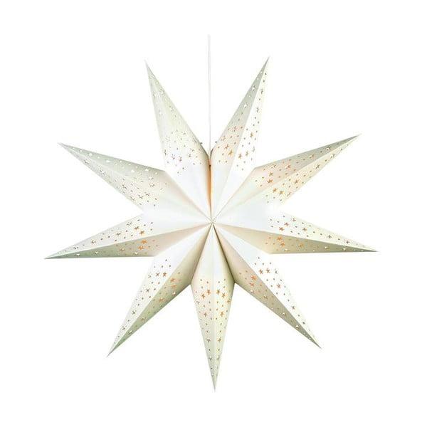 Svítící hvězda Solvalla White, 75 cm