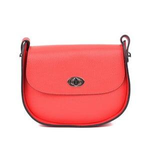 Červená kožená kabelka RenataCorsi Marcello