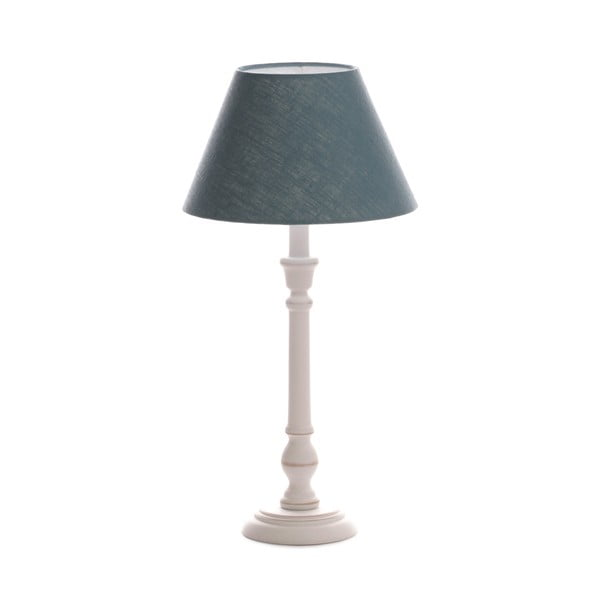 Stolní lampa Laura Light Blue/Washed White, 51 cm