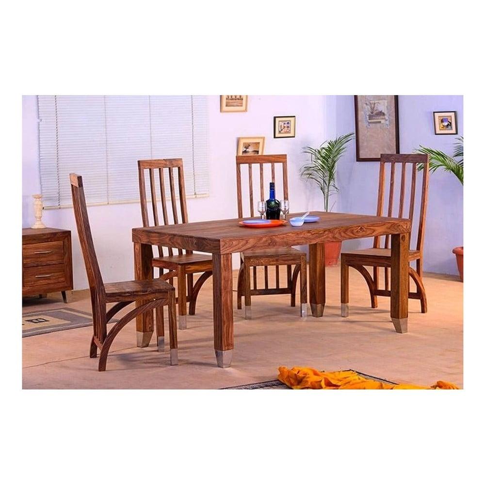 Jídelní stůl z palisandrového dřeva SOB Margao, 200 x 100 cm