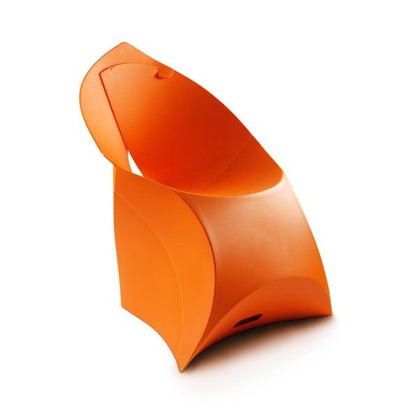 Scaun Flux, portocaliu