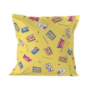 Povlak na polštář Baleno Walkman Yellow, 60 x 60 cm
