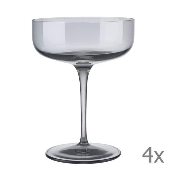 Set 4 pahare pentru șampanie Blomus Fuum