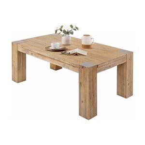 Odkládací stolek z akáciového dřeva Støraa Mabel, 70x120cm