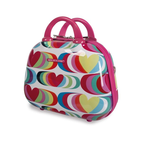 Kosmetická cestovní taška Agatha, fuchsiová