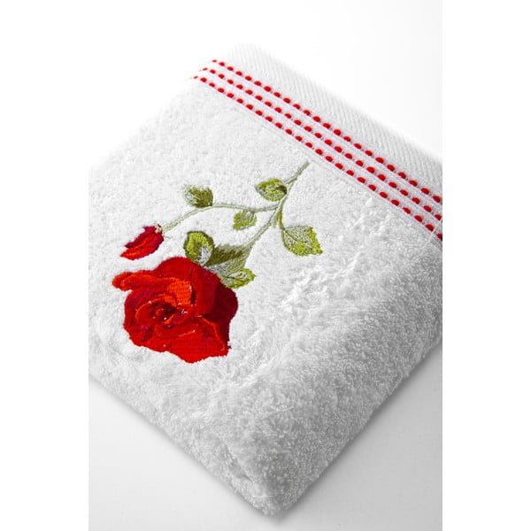 Osuška Red Rose, 50x90 cm
