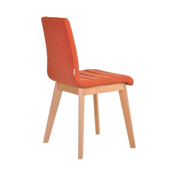 Sada 2 oranžových židlí Garageeight Nybro