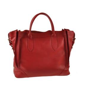 Červená kožená kabelka Ore Diece Arlon