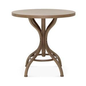 Stůl z bukového dřeva Fameg Torben, ⌀ 80 cm
