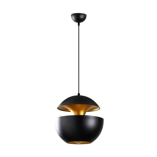 Berceste Round fekete függőlámpa - Opviq lights
