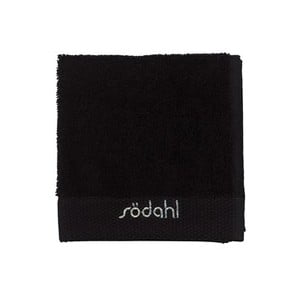 Malý ručník Comfort black, 30x30 cm