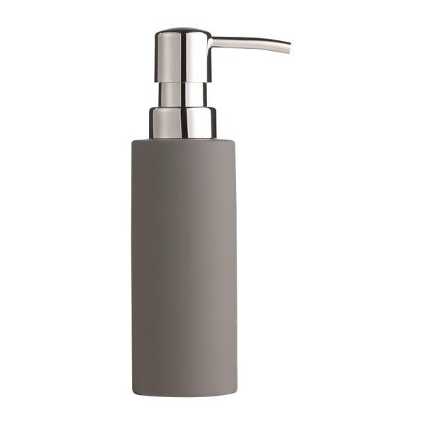 Dávkovač mýdla, 17,5 cm, šedý