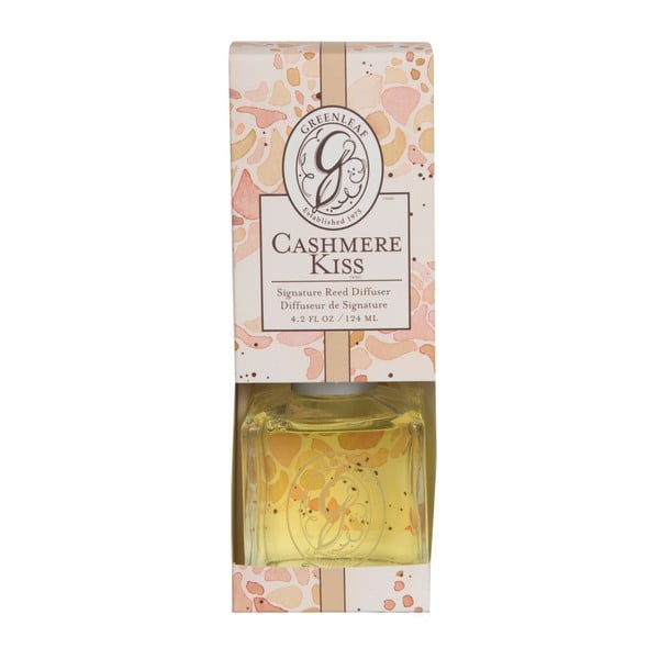 Difuzér s vůní vanilky Greenleaf Signature Cashmere Kiss, 124ml