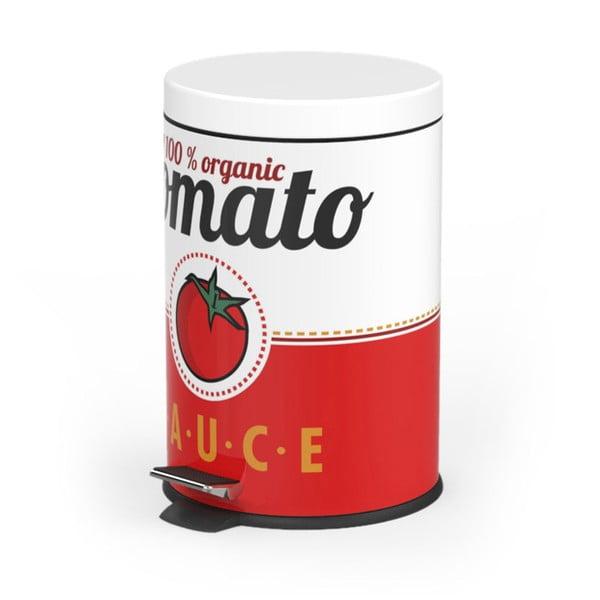 Pedálový odpadkový koš Tomato Sauce, 5 l