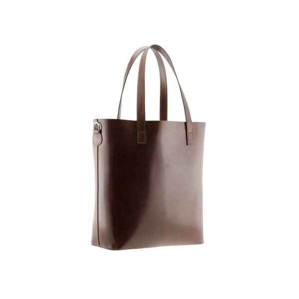 Kožená kabelka Markese 8768 Dark Brown