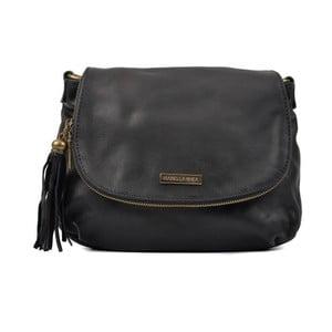 Černá kožená kabelka Isabella Rhea Margona