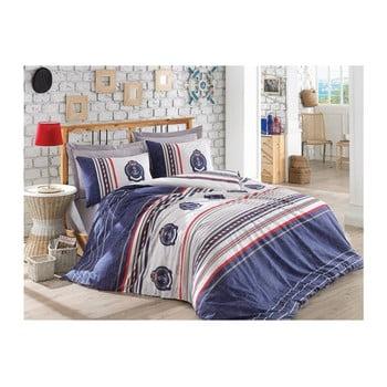 Lenjerie de pat cu cearșaf La Arma, 200 x 220 cm de la Cotton Box