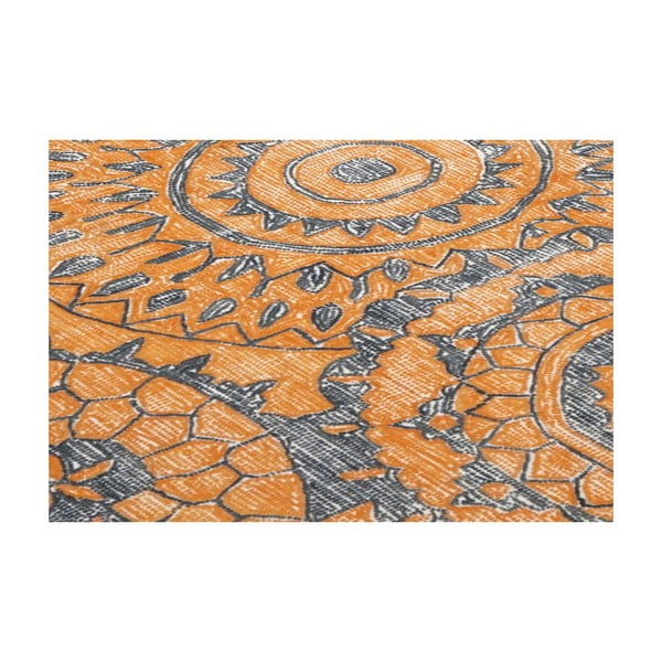 Vlněný koberec Ontario, 160x230 cm, oranžový