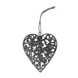 Inimă decorativă de agățat Antic Line Hanging Love