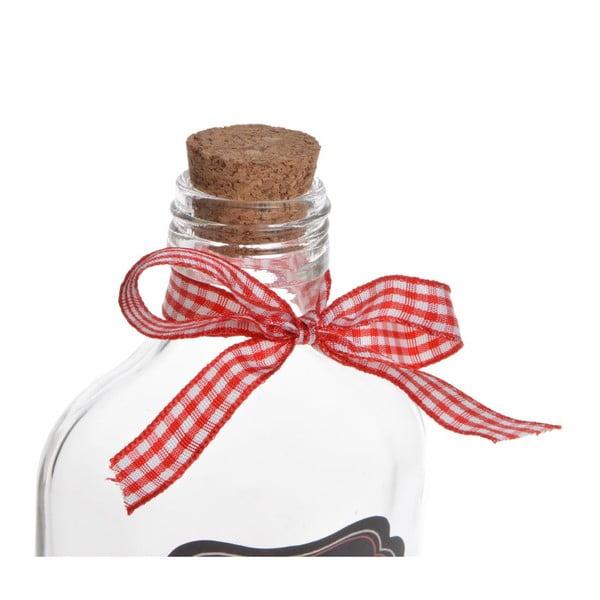 Skleněná lahev Merry Chistmas Small