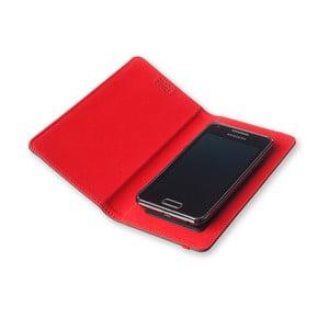 Červené pouzdro na telefon Moleskine Book, extra velký