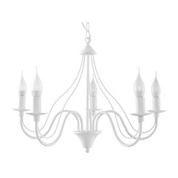 Lustră Nice Lamps Floriano 5, alb de la Nice Lamps